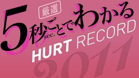 【最速試聴】5秒ごとでわかるHURT RECORD 2011年版【フリーBGM】