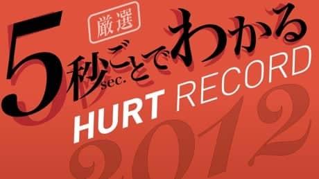 【最速試聴】5秒ごとでわかるHURT RECORD 2012年版【フリーBGM】